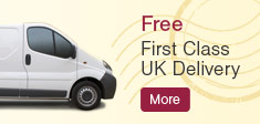 Free First Class UK Delivery