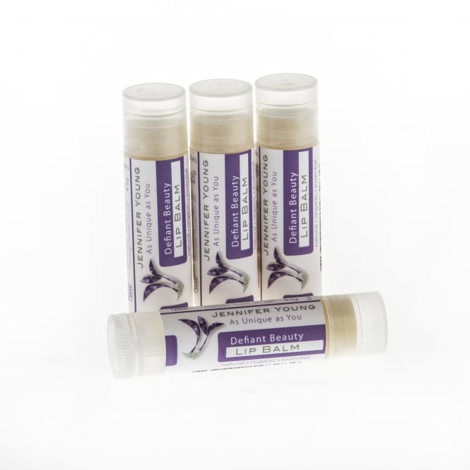 Jennifer Young Beauty Despite Cancer Defiant Beauty Lip Balm