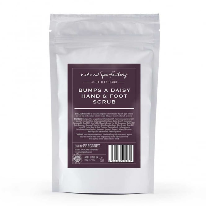 Natural Spa Company Bumps A Daisy Hand and Foot Pregnancy Scrub (250ml)
