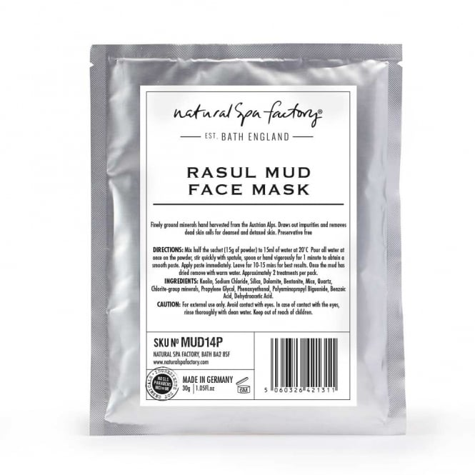Natural Spa Company Rasul Mud Face Mask 30g